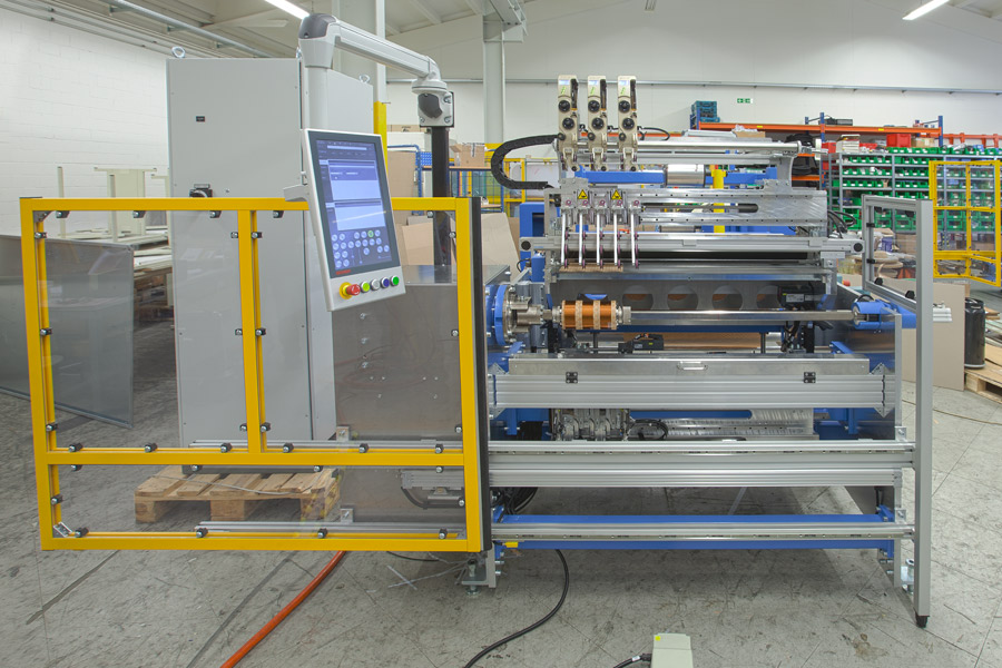 WHAN 150x3 wire winding machine