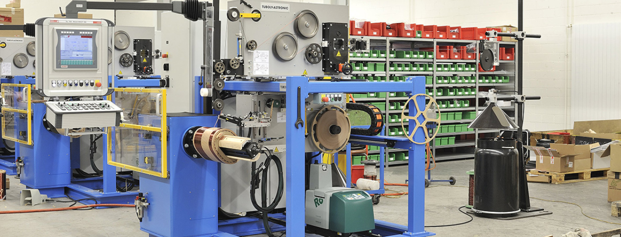 Advantages of using a Tuboly-Astronic wire winding machine