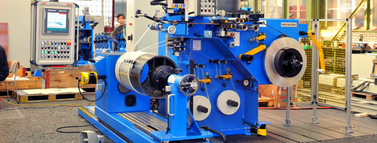 HV foil winding machines for dry-type transformers