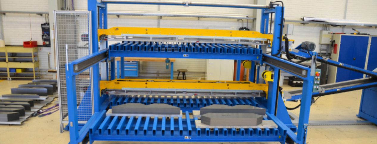 Some of Tuboly Astronic's Automated Core Stacking Machines in Detail